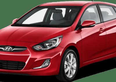 Hyundai Xcent - mira car rentals